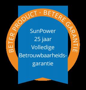 Sunpower Volledige Betrouwbaarheidsgarantie